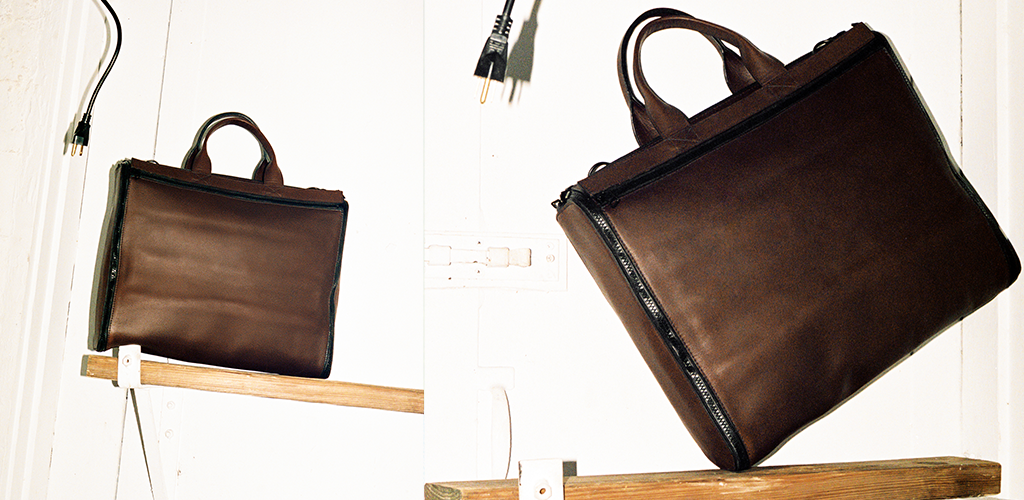 BAMIN cool leather briefcases