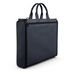 Briefcase Bag in Blue Matte Leather