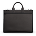 Carryall Tote Bag in Brown Matte Leather