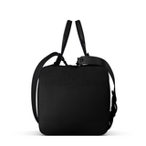 Overnight Bag in Black Matte Leather