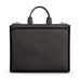 Briefcase Bag in Brown Matte Leather