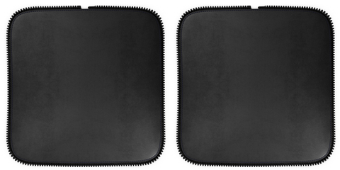 Overnight Bag Add-On Parts in Black Matte Leather