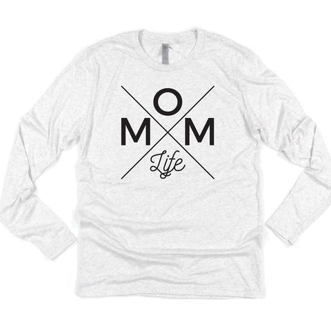Mom Life Unisex Long Sleeve [Ships in 3-5 business days]