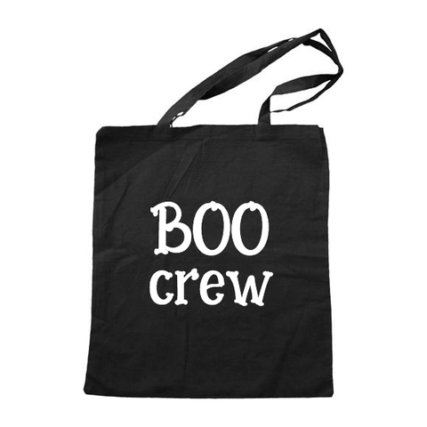 Boo Crew Cotton Tote [Ships in 3-7 business days]