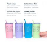 Chaos Crew 12oz Stainless Tumblers [ships in 1-3 business days]