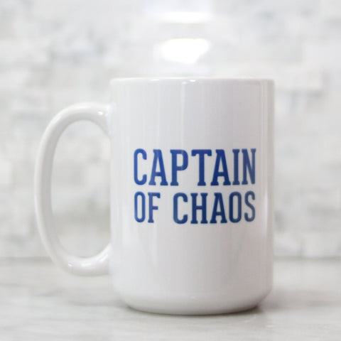 Captain of Chaos 15oz Mug