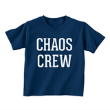 Chaos Crew Kids Tee - Patriotic Red + Blue