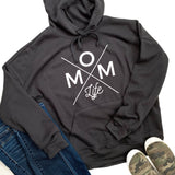 Mom Life Sponge Fleece Hoodie [Ships in 3-5 Business Days]