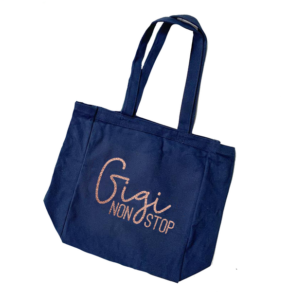 Gigi Non Stop Canvas Tote [ships in 3-7 business days]