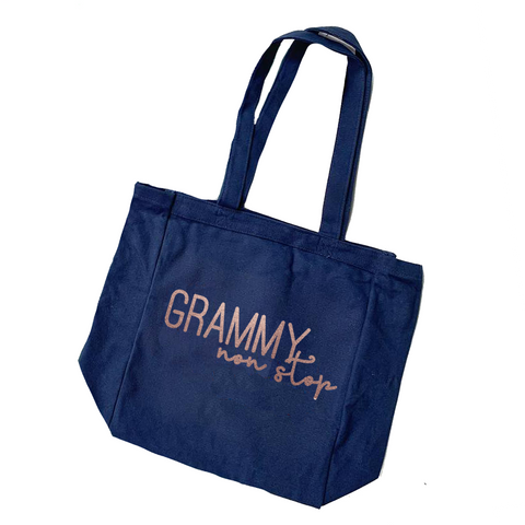 Grammy Non Stop Canvas Tote [ships in 3-7 business days]