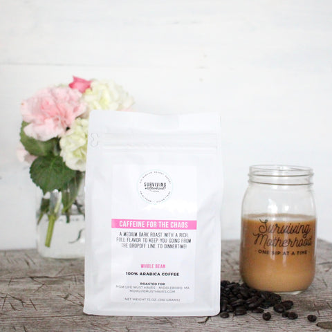 Caffeine for the Chaos - Surviving Motherhood Coffee