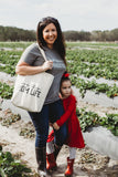 Love This Mom Life Canvas Tote