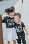 Chaos Crew Kids Tee - Black [ships in 3-5 business days]