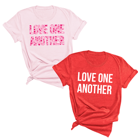 Love One Another ADULT UNISEX Tee [ships in 3-5 business days]