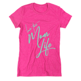 Love This Mom Life Tee Pink/Mint