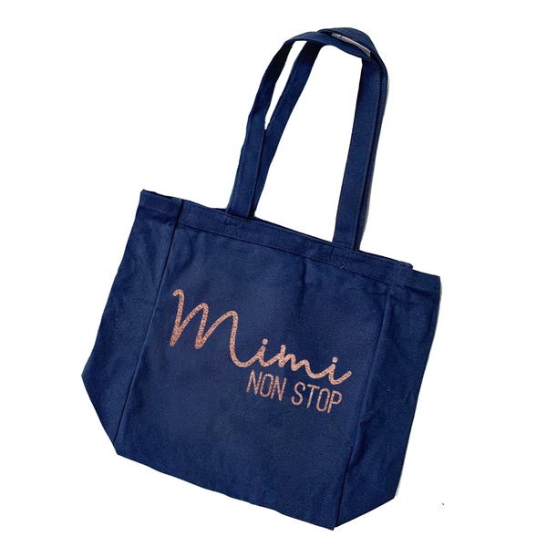 Mimi Non Stop Canvas Tote [ships in 3-7 business days]