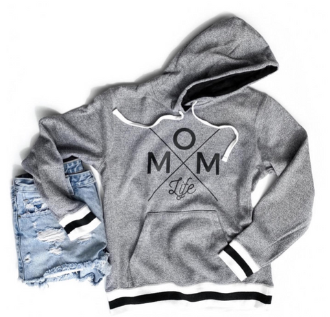 Mom Life Pepper Hoodie [Ships in 3-5 business days]