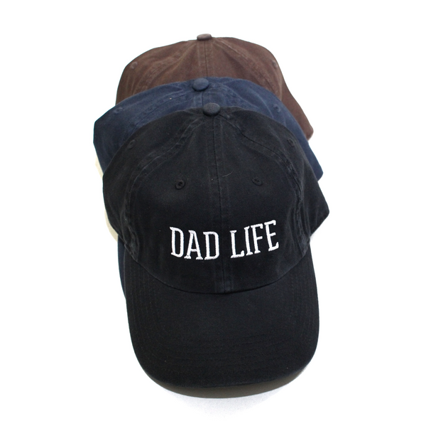 Dad Life Washed Chino Cap