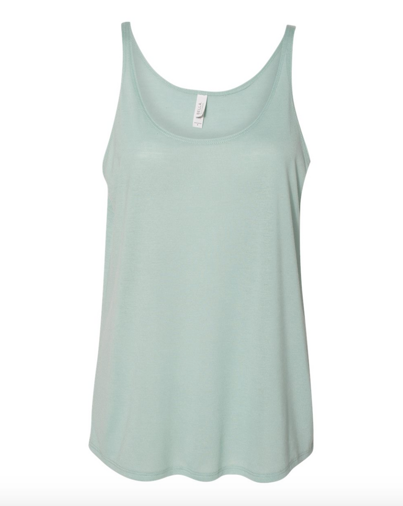 Love This Mom Life Dusty Blue Tank Top