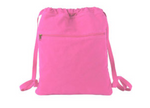 PInk FBCC Cinch Bag