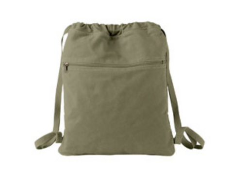 Olive Mom Life Cinch Bag