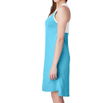 Mom Life Caribbean Blue Tank Dress [ships in 3-5 business days]