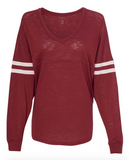 Mom Non Stop Burgundy Spirit Jersey [ships in 3-5 business days]