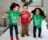 Santa's Crew Kids Christmas Tee + Pullover [Ships in 5-7 business days]