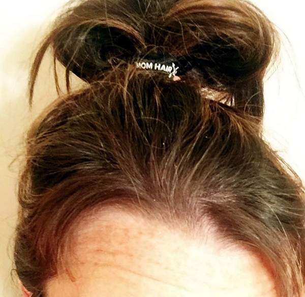 Mom Hair Don't Care || No-Dent No-Pull Hair Tie