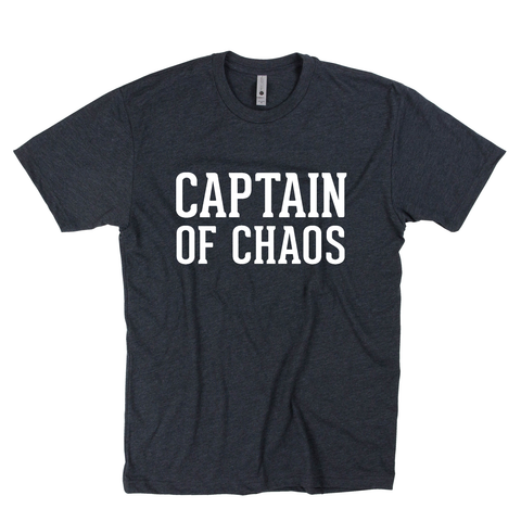 Captain of Chaos Tee [ships in 3-5 business days]