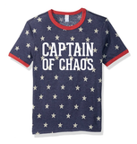 Captain of Chaos Ringer Tee