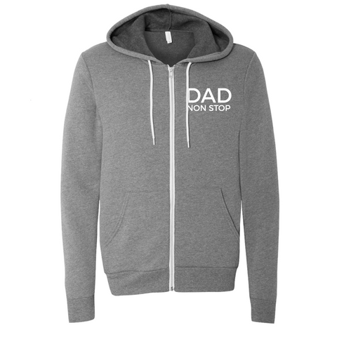 Dad Non Stop Lightweight Fleece Zip Up [ships in 2-4 business days]