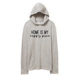 Home Is My Happy Place Lightweight Hoodie [Ships in 3-5 Business Days]