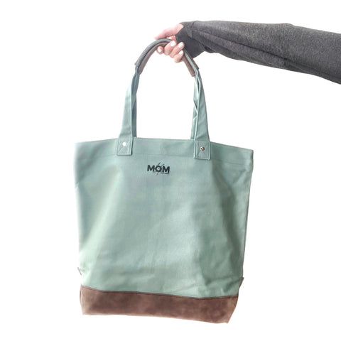 Signature Canvas Tote - Dusty Pine [ships in 3-5 business days]