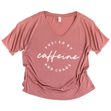 Fueled by Caffeine and Chaos Slouchy Tee [ships in 3-5 business days]