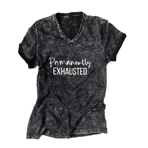 Permanently Exhausted Mineral Wash Tee