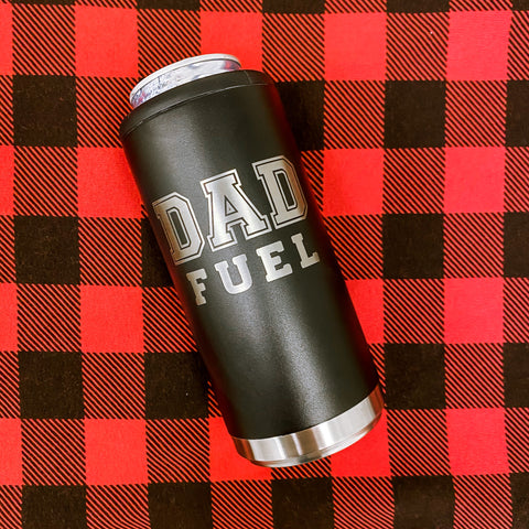 Dad Fuel Skinny Can Cooler [ships in 3-5 business days]