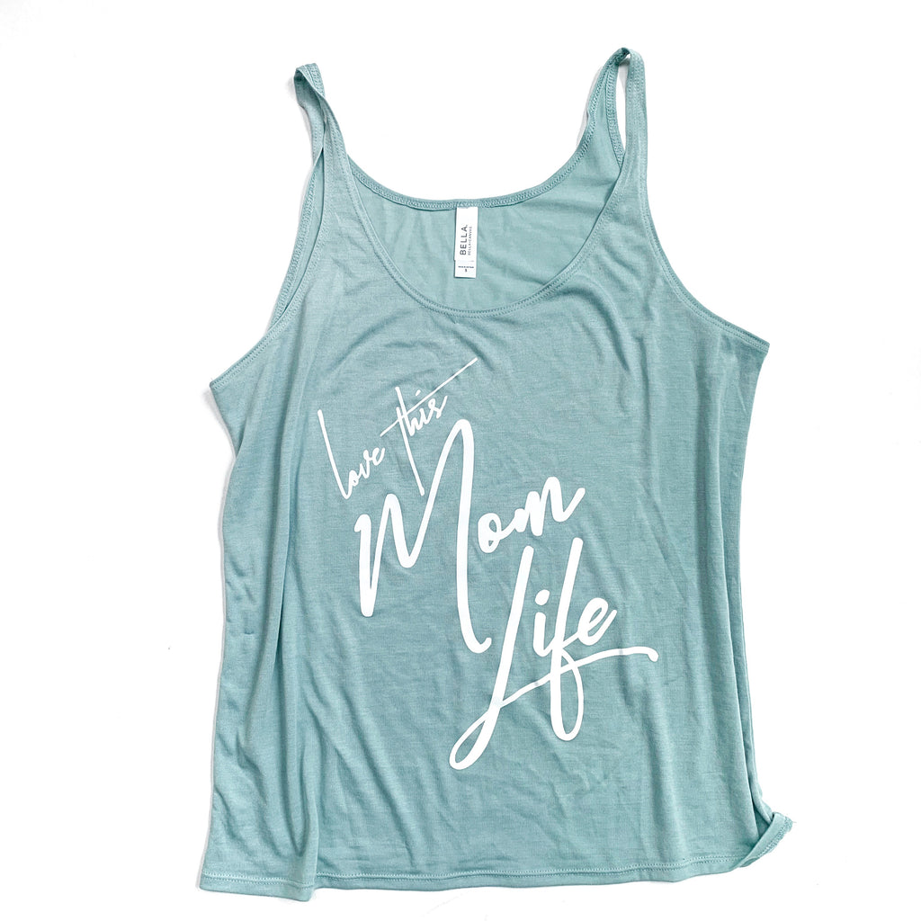 Love This Mom Life Slouchy Tank [ships in 3-5 business days]