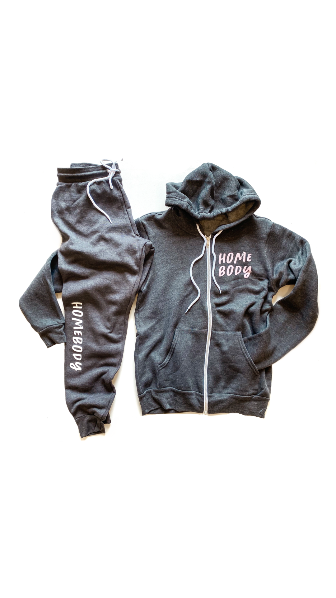 Homebody Zip Up Hoodie [Ships in 3-5 Business Days]