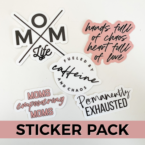 MLMH Sticker Pack [ships in 1-3 business days]