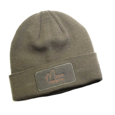 Mom Non Stop Olive Winter Beanie [ships in 3-5 business days]