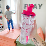 PINK Fueled by Caffeine & Chaos 24oz Tumbler [ships in 1-3 business days]