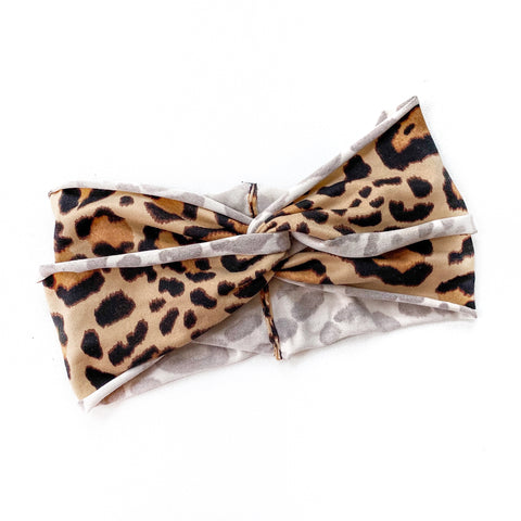 Leopard Print Women's Headband [ships in 3-5 business days]
