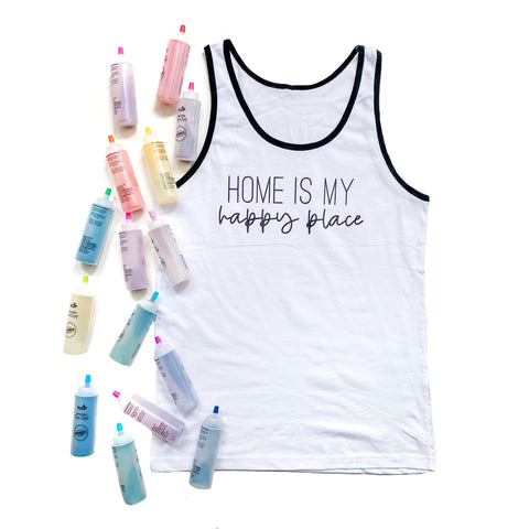 Home is my Happy Place Tank [ships in 3-7 business days]