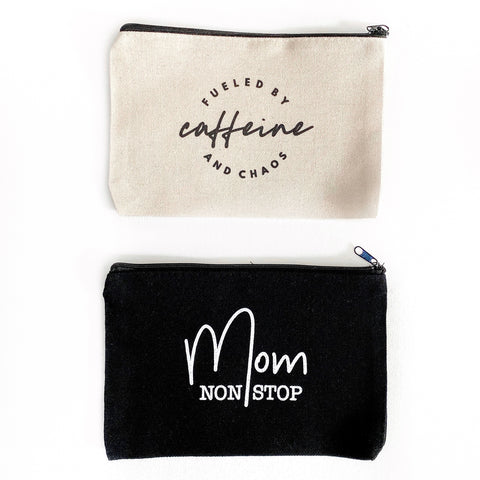 Canvas Zipper Pouch [ships in 3-5 business days]