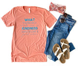 What The World Needs SUNSET Triblend Tee [ships in 3-5 business days]