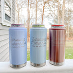ROSE GOLD GLITTER: Surviving Motherhood Skinny Can Cooler [ships in 3-5 business days]