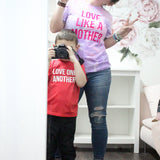 Love Like a Mother Cotton Candy Tie Dye Tee [ships in 3-5 business days]