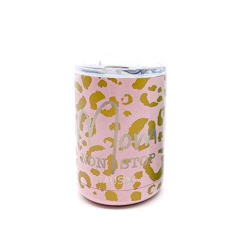 Leopard Mom Non Stop Can Cooler [ships in 3-5 business days]