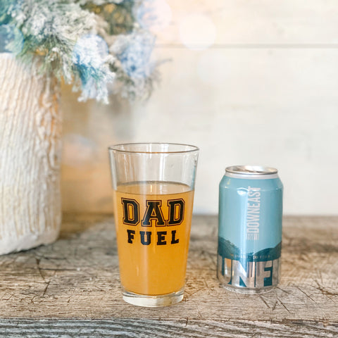 Dad Fuel 16oz Pint Glass